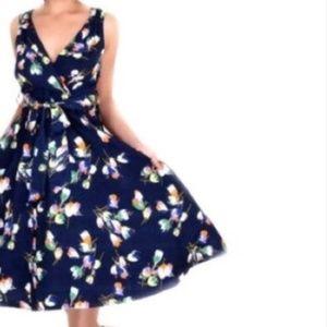 Dresses & Skirts - Mod Navy Plus Size Dress
